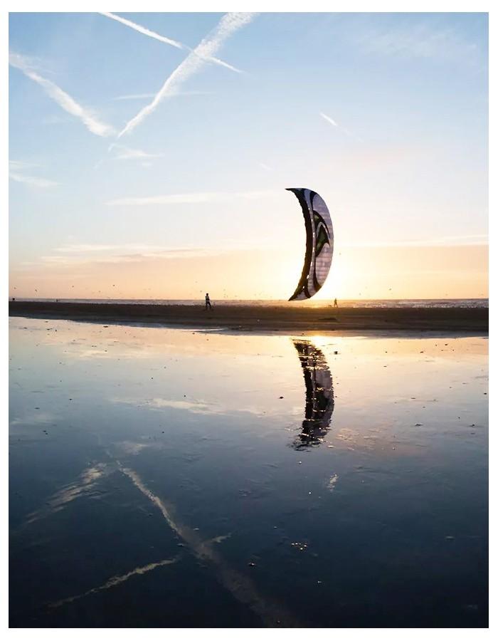 aile de kitesurf d 39 occasion flysurfer speed 4 lotus pas. Black Bedroom Furniture Sets. Home Design Ideas