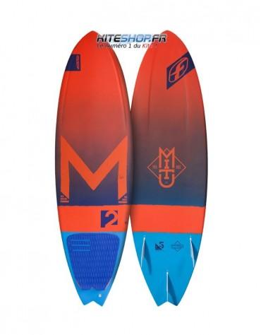 """PLANCHE DE SURF F-ONE MITU MONTEIRO ESL 5""""8 2017"""