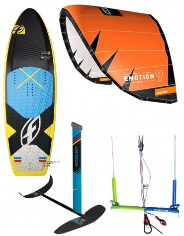 PACK FOIL F-ONE IC6 + RRD EMOTION MK3 + BOARDFOIL 51TS + BARRE