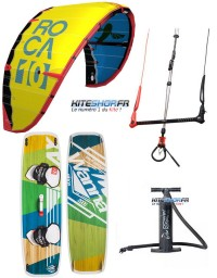 PACK ROCA 2017 + BARRE V6 + PLANCHE WANNA PLAY 2018 + POMPE