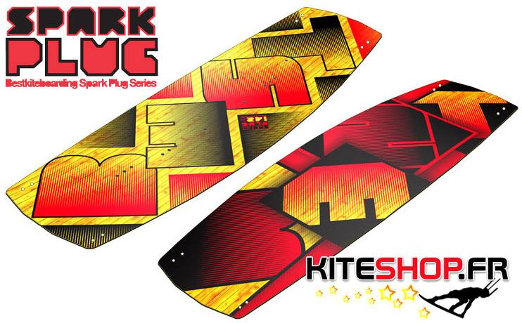bestkiteboarding spark plug 2013