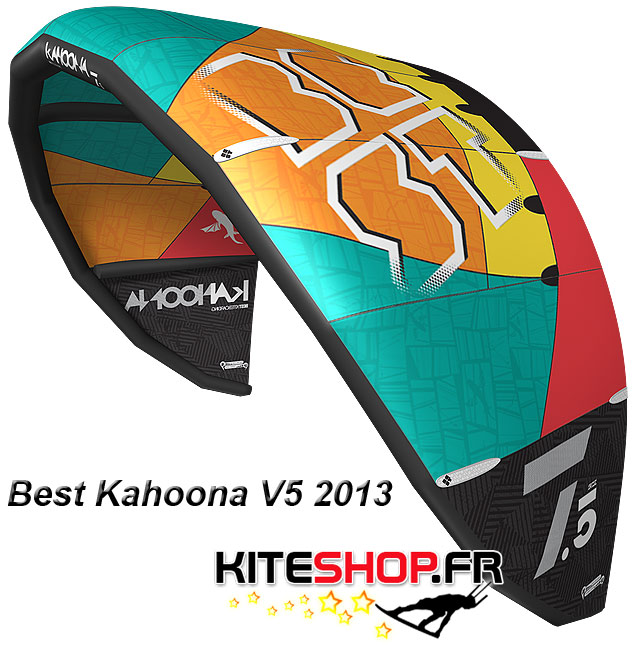 bestkiteboarding kahoona V5 2013
