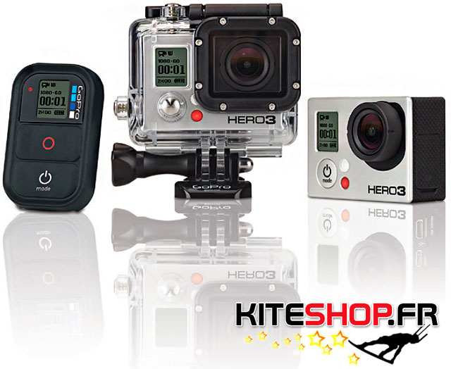 CAMERA GOPRO HERO 3 WHITE EDITION