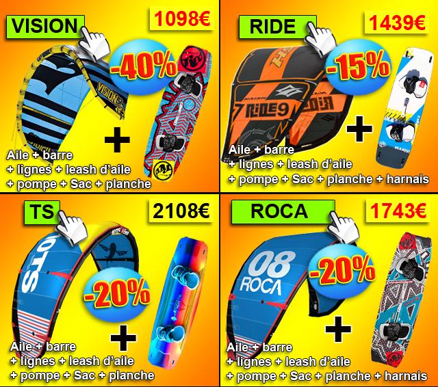 pack kitesurf 2016