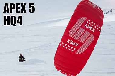 HQ4 Apex 5 snowkite