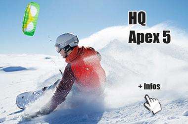 HQ Apex 5 snowkite