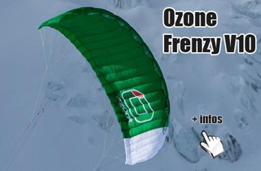 ozone frenzy v10 snowkite