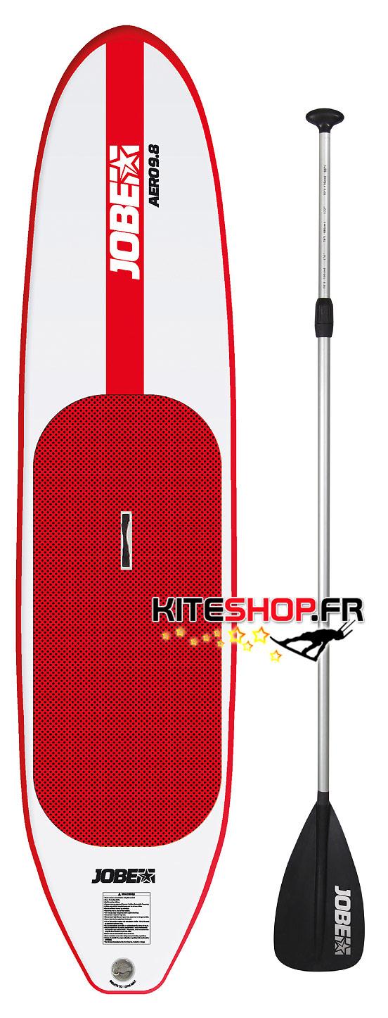 sup paddle gonflable jobe aero 9 39 8 kiteshop. Black Bedroom Furniture Sets. Home Design Ideas