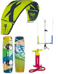 PACK F-ONE BANDIT 2019 + BARRE KITE ATTITUDE + PLANCHE WANNA PLAY + POMPE