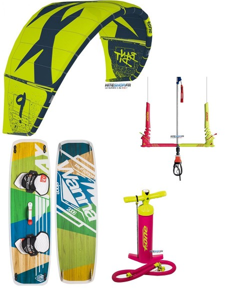PACK F-ONE BANDIT 2019 + BARRE F-ONE + PLANCHE BLANKFORCE LOGIC + POMPE