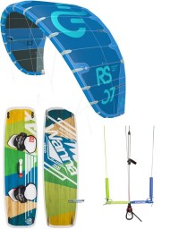 PACK ELEVEIGHT RS V2 2019 + PLANCHE WANNA PLAY + BARRE KITE ATTITUDE