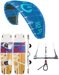 PACK ELEVEIGHT RS V2 2019 + PLANCHE BLANKFORCE LOGIC + BARRE CS VARY
