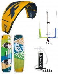 PACK F-ONE BANDIT 2020 + BARRE KITE ATTITUDE + PLANCHE WANNA + POMPE