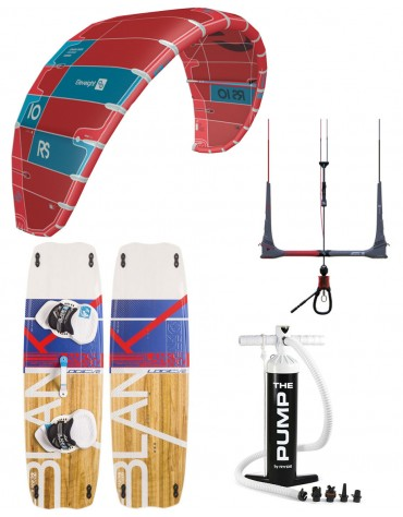 PACK ELEVEIGHT RS 2020 + CS VARY 2020 + PLANCHE BLANKFORCE LOGIC + POMPE