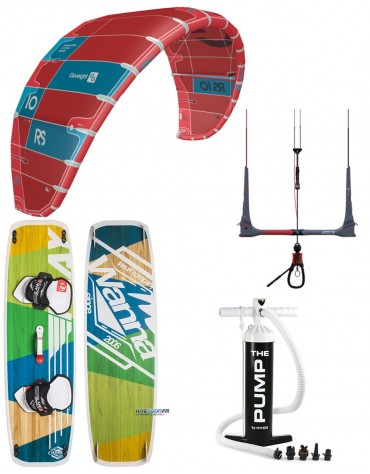 PACK ELEVEIGHT RS 2020 + BARRECS VARY 2020 + PLANCHE WANNA PLAY + POMPE