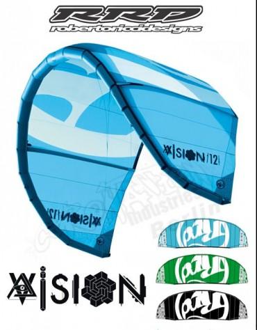 AILE DE KITESURF RRD VISION MK112M COMPLETE DE 2011