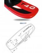 MOSES BOARDFOIL - MT40GRM - Fibre de verre