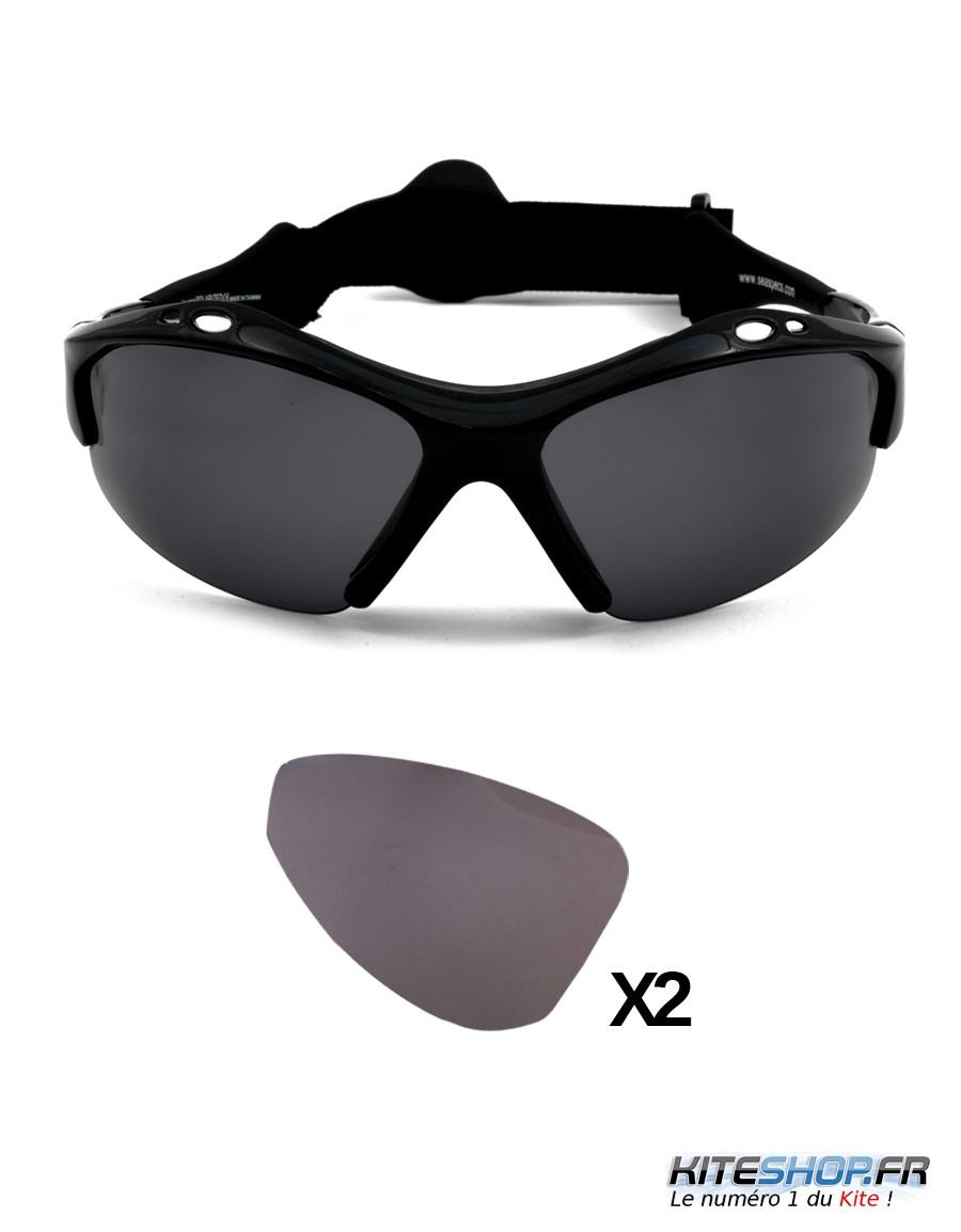 verres de remplacement pour lunettes de kitesurf seaspecs kiteshop fr. Black Bedroom Furniture Sets. Home Design Ideas