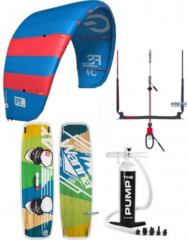 PACK ELEVEIGHT FS + BARRE ELEVEIGHT CS + PLANCHE WANNA
