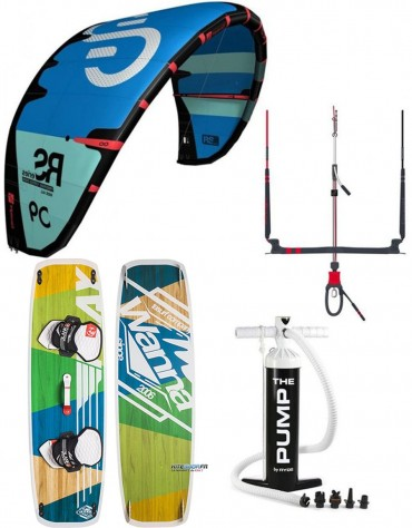 PACK ELEVEIGHT RS + BARRE ELEVEIGHT CS + PLANCHE WANNA