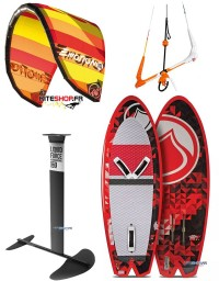 PACK FOIL RRD EMOTION 12M + FOIL LIQUID FORCE ROCKET V2 + BARRE RRD V7