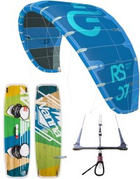 PACK ELEVEIGHT RS V2 2019 + PLANCHE WANNA PLAY + BARRE CS VARY